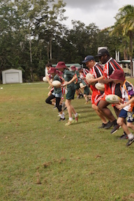 Norths Rugby League visit