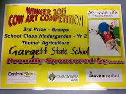 Cow Art Competition Winners